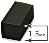 Толщина 1-3 мм (+26°)