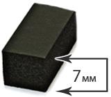 Толщина 7 мм (12-17°)