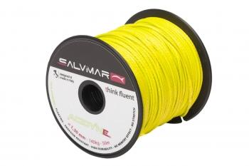 Линь SALVIMAR ACTIVE DYNEEMA желтый  ø 1,3 мм  (140 кг. На разрыв)