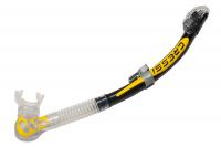 Трубка Cressi ALFA DRY цвет черный/желтый