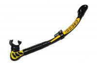 Трубка Cressi ALFA DRY черный силикон цвет черный/желтый