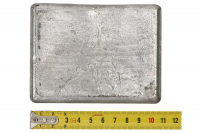 Груз плоский для разгрузочного жилета 1 кг