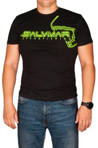 Футболка Salvimar Team черная с зеленым лого