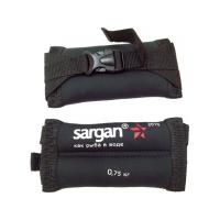 Груза ножные мягкие SARGAN Донгуз 0,75 кг, 2мм, неопрен-нейлон черный, баласт-Pb.