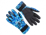Перчатки Scorpena Tropik BLUE Camo, 2 мм