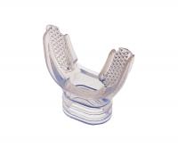 Загубник анатомический IST комфортный, для трубок и регуляторов, прозрачный силикон MP-5