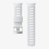 Ремешок силиконовый для D5, белый, стальная застежка