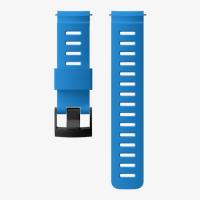 Ремешок силиконовый для D5, синий, черная застежка