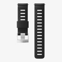 Ремешок силиконовый для D5, черный, стальная застежка