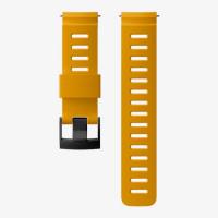 Ремешок силиконовый для D5, оранжевый, черная застежка