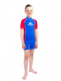 Гидрокомбинезон лайкровый Scorpena Swim детский, голубой