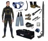 """Готовый комплект снаряжения для подводной охоты """"Оптимальный"""" 5 мм."""
