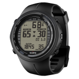 Декомпрессиметр SUUNTO DX BLACK ELASTOMER